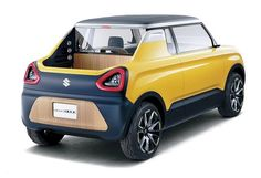 Suzuki will exploits the Tokyo Auto Show 2015 to introduce a new concept called Suzuki Mighty Deck. Since it was designed as