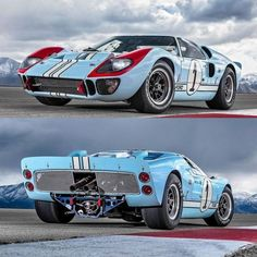 Le Mans, Ford Sport, Automobile, Vw Scirocco, Custom Muscle Cars, Honda Cb750, Ford Gt40, Sweet Cars, Vintage Race Car