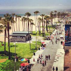 Santa Monica, Venice Beach in Venice, CA