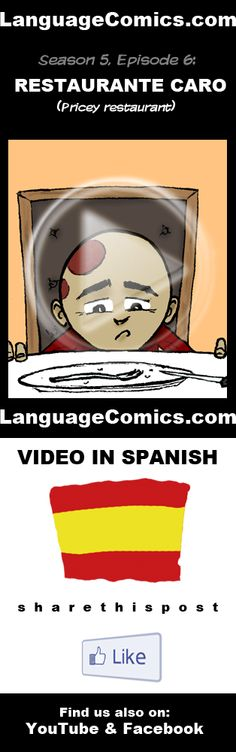 Practice your pronunciation and learn #Spanish with this episode and many more. Enjoy and share!  http://www.youtube.com/watch?v=pIWT1DOqtFo ---------------------------------------------  Also find us on http://www.Facebook.com/LanguageComics - - - http://www.YouTube.com/LanguageComicsTeam - - - http://www.Instagram.com/LanguageComics_