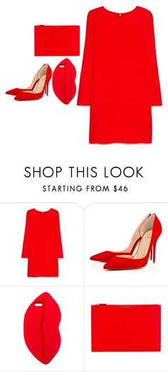 """""""Untitled #5155"""" by adi-pollak ❤ liked on Polyvore featuring MANGO, STELLA McCARTNEY and Givenchy"""