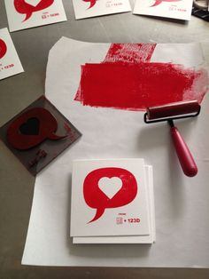 Here's a quick little project with Tinkercad and a 3D printer - a letterpress block for custom hand-printed Valentine's Day cards! Reversing the Tinkercad logo was a bit tricky, but as with most th... Maybe something for 3D Printer Chat?