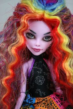 Monster High Operetta OOAK Repaint and re Wig | eBay