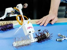 Space exploration is hard, but these robots are ready to climb pretty much anything.