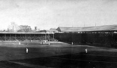 to this week in 1901 when we played the American Leagues first game in Detroit beating Milwaukee on Opening Day at Bennett Park. Baseball Park, Detroit Tigers Baseball, Baseball Games, Baseball Stuff, Tiger Stadium, Mlb Stadiums, Wrigley Field, American League, Fenway Park