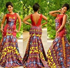 25 Beautiful African Print Maxi Dresses And Gowns For a Wedding Guest   CIAAFRIQUE ™   AFRICAN FASHION-BEAUTY-STYLE
