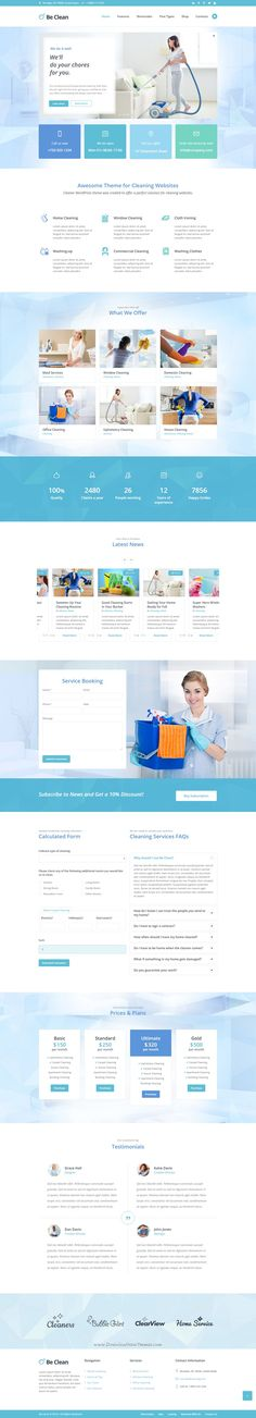 Be Clean is responsive premium WordPress Theme is a all-in-one tool to create a…