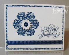 Unfrogettable Stamping - CAS Comfort Cafe birthday card 09-09-12 by ivy