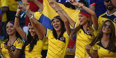 Resultado de imagen para mujeres hermosas de la seleccion colombia
