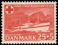 Denmark 1951 Danish Red Cross Fund.