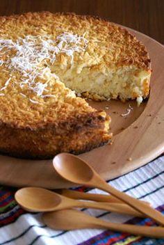 Enyucado / gâteau au manioc et à la noix de coco