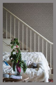 Farrow & Ball's beautiful new wallpapers Farrow And Ball Paint, Farrow Ball, New Wallpaper, Interior Inspiration, Spring 2015, House Styles, Pattern, Collections, Content
