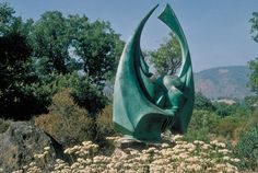 Bronze Sculpture by James Hubbell.