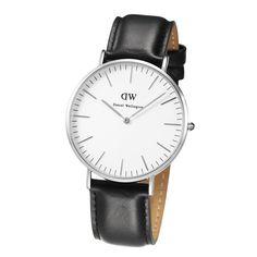 Daniel Wellington Men's Quartz Watch Classic Sheffield 0206DW with Leather Strap: Daniel Wellington: Amazon.co.uk: Watches