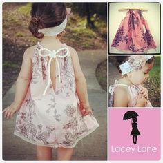 Dusty Pink Rope dress. $49.95, via Etsy.