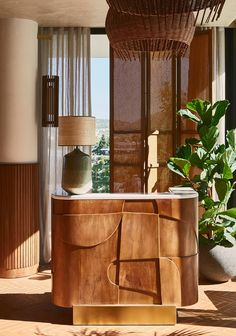 Humbert & Poyet | Beefbar Architecture Restaurant, Restaurant Interior Design, Architectural Digest, Seoul Hotel, Reception Desk Design, Hotel Reception Desk, Casamance, Counter Design, Hospitality Design
