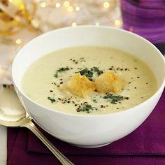 soup recipes images | Golden Potato-Cauliflower Soup - 12 Healthy Soup Recipes - Health.com