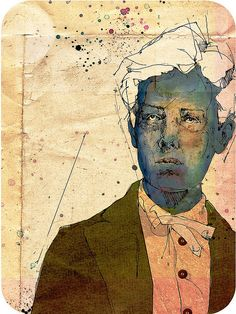 Arthur Rimbaud by Pedro Covo, via Flickr