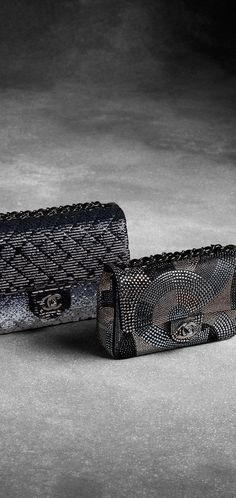 Chanel ~ Flap bag with Metallic Embroidered Sequins - cute handbags, leather purse brands, purses for women *sponsored https://www.pinterest.com/purses_handbags/ https://www.pinterest.com/explore/handbag/ https://www.pinterest.com/purses_handbags/leather-purses/ http://www.chanel.com/en_US/fashion/products/handbags/g.fall-winter-2016-17-pre-collection.c.16B.html