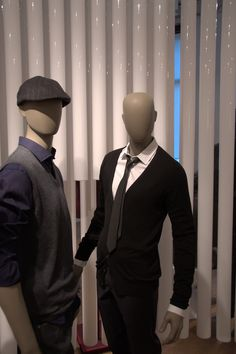 Mannequin Club collection | Cofrad mannequins  #men #mannequins #windowdisplay #cofradmannequins