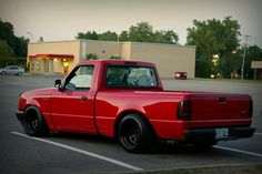 Stanced Ranger...not really my thing but this looks killer!