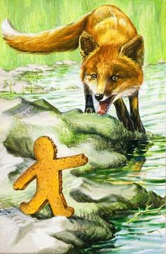 River - The Gingerbread Boy - Robert Lumley - Ladybird Book