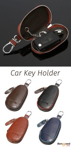 US$8.99 + Free shipping. Unisex Key Holder, Genuine Leather Bag, Portable Car Key Ring, Remote Chain Bags. Color: Black, Brown, Coffee, Blue. Good Item with High Quality yet Low Price.