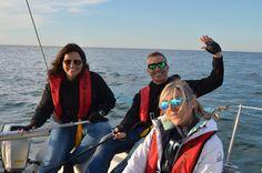 Curso de iniciação à vela #sailspot #cursos #aprender #vela #formação #escola #veleiro #aveiro #cursos #sailing #equipa #alunos