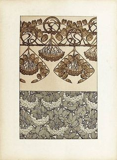 Mucha Documents décoratifs (1902) — signes
