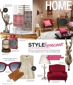 KAS Australia in the Home: Style magazine Forecast page of the June issue out now
