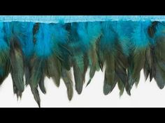 How to Sew on Feathers and Make Your Own Feather Trim - https://www.youtube.com/watch?v=bq-71xnbPkU