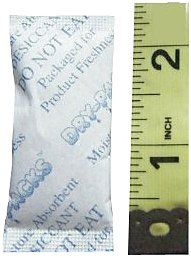 Save $1.94 on Dry-Packs 3gm Tyvek Silica Gel Packet, Pack of 20; only $10.26 + Free Shipping