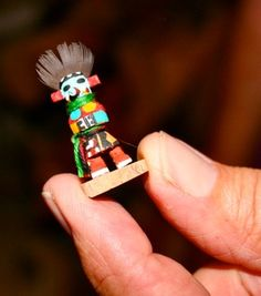 kachina - Katsina - Hopi - Hopi handcarved Kachina or Katsina Figures