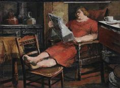 Resting Woman (1936-39) - James H. P. Neal