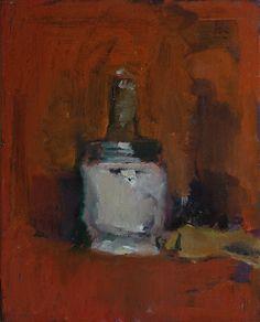 Robert D'Arista Paintings 1979. Oil on linen on wood, 1979.