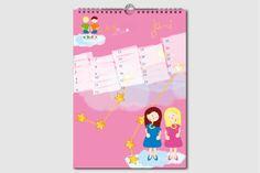 Sternzeichen Geburtstagskalender. Jeden Monat ein neuer Schatz. Kalender ohne Jahreszahl und Tagesangabe, wiederverwendbar, DIN A4, Juni