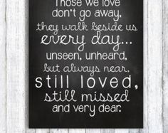 Memory board for loved ones who've passed on by amiesniderDESIGN
