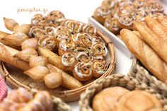 Miniature Food - Bakery, Bread, Baguette and Brioches | Flickr - Photo Sharing!