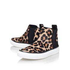 luxembourg tan high top trainers from KG Kurt Geiger