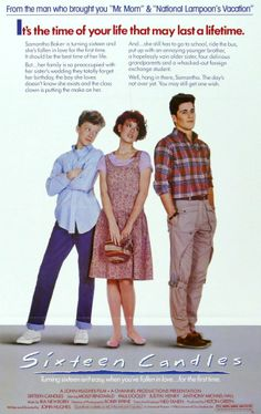 Se Busca Novio (1984). Comedia rosa ochentera escrita y dirigida por John Hughes. Protagonizada por Molly Ringwald, Michael Schoeffling y Anthony Michael Hall.
