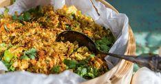Fried rice med dressing
