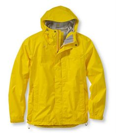 yellow is always the best color for a raincoat. especially if you're a little person.