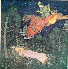 from Edmund Dulac's Fairy Book 1916