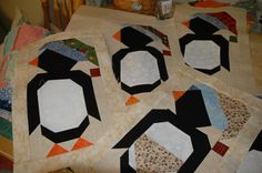 Penguin quilt Blocks