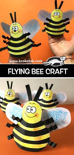 krokotak | FLYING BEE CRAFT