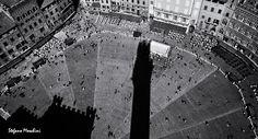 Il Campo - Foto di Stefano Moschini - #Siena #Toscana #PiazzaDelCampo