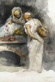 Mariano Fortuny (1838-1874) - The Tapestry Merchant, 1867