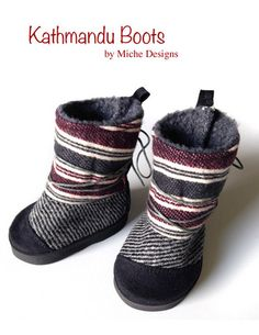 {Kathmandu 18' doll pattern} how cute are these doll shoes!?