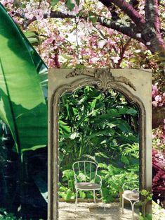 Jardin d'hiver – Leia Nagora Arch, Outdoor Structures, Gardens, Winter Garden, Longbow, Arches, Wedding Arches, Bow, Belt