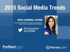 2015 Social Media Trends by Erica Campbell Byrum via slideshare